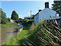 SJ6872 : Cottage next to the Trent & Mersey Canal by Mat Fascione