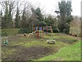 NZ2665 : Playpark off Goldspink Lane, Newcastle upon Tyne by Graham Robson