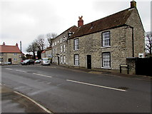 ST6976 : Grade II listed number 3,  Abson Road, Pucklechurch by Jaggery