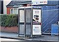 J3573 : Telephone boxes, My Lady's Road, Belfast (February 2016) by Albert Bridge