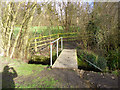 TL8423 : Footbridge over Robin's Brook by Robin Webster