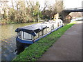 TQ1777 : Rose Alice, narrowboat on Grand Union Canal winter moorings by David Hawgood