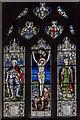SK6351 : East window, St Peter's church, Oxton by Julian P Guffogg