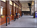 SJ8498 : Manchester Victoria Station Booking Hall by David Dixon