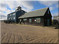 TF9945 : Old lifeboat station, Blakeney Point by Hugh Venables