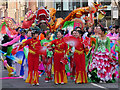 SJ8497 : Chinese New Year Dragon Parade, Princess Street by David Dixon