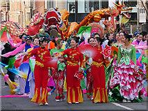 SJ8497 : Chinese New Year Dragon Parade, Princess Street by David Dixon