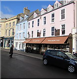 SP0202 : Goldsmiths, Market Place, Cirencester by Jaggery