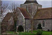 TQ5203 : Alfriston: St. Andrew's Church by Michael Garlick