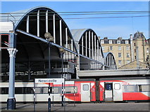NZ2463 : Newcastle Central station - east end by Mike Quinn