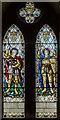 TF1089 : Stained glass window, St Thomas' church, Market Rasen by Julian P Guffogg