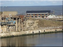 NZ4349 : Loading bay in South Dock, Seaham Harbour by Oliver Dixon