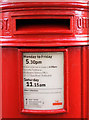 TA1866 : Detail, Victorian postbox on Marshall Avenue, Bridlington by JThomas