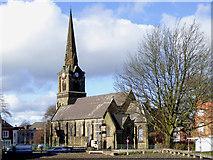 SO9098 : St Mark's Church in Wolverhampton by Roger  Kidd