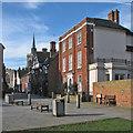 TL2433 : Baldock: Whitehorse Street and Sun Street by John Sutton