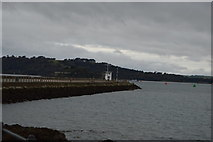 SX4853 : Mountbatten Breakwater by N Chadwick
