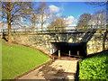 SD4806 : Glenburn Road Pedestrian Underpass by David Dixon