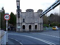 SH5571 : Entering Gwynedd by John Lucas