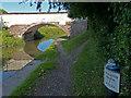 SJ6076 : Trent & Mersey Canal Milepost near Bartington by Mat Fascione