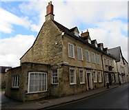 SP0202 : Dollar Street houses, Cirencester by Jaggery