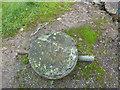 NS3374 : Old mooring bollard by Thomas Nugent