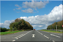 SE4391 : A19 heading north by Robin Webster