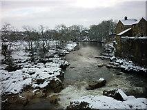 SE0063 : Linton Falls from the Tin Bridge by Carroll Pierce