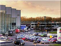 SD4806 : Car Park at the Concourse Shopping Centre by David Dixon