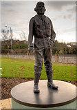 SD4210 : RNAS Burscough Airman Statue by David Dixon