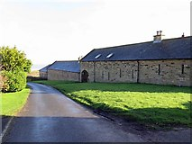 NU2422 : Converted farm buildings at Dunstan Steads by Andrew Curtis