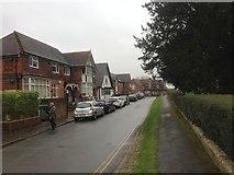 TQ8833 : Church Road, Tenterden by Chris Whippet