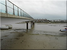 TQ2104 : Shoreham-by-Sea: The Adur Ferry Bridge by Nigel Cox