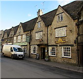 SP0202 : Black Horse, Cirencester by Jaggery