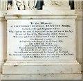SK9211 : Memorial to Lieutenant General Bennett Noel by Alan Murray-Rust