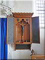 TF4713 : The World War One Memorial in West Walton church by Adrian S Pye