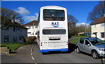 ST3090 : NAT double-decker, Brynglas Drive, Newport by Jaggery