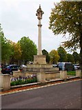 SP3509 : War Memorial (2), Church Green, Witney, Oxon by P L Chadwick