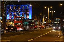 TQ3179 : London : Lambeth - Waterloo Road A301 by Lewis Clarke