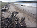 NT6479 : Coastal East Lothian : Metal Plates And Mystery Object, Spike Island Sands by Richard West