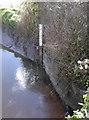 ST4063 : Flood gauge by Neil Owen