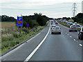 SE4916 : A1 South of Wentbridge by David Dixon