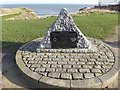 NZ4249 : George Elmy Memorial, Seaham by Oliver Dixon