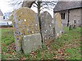 SP5208 : Older Headstones by Bill Nicholls