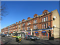 TQ3486 : Shop Terrace, Upper Clapton Road by Des Blenkinsopp