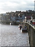 NZ8911 : Quayside at Whitby by Gordon Hatton