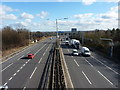 SP1690 : M6 southbound by Richard Law