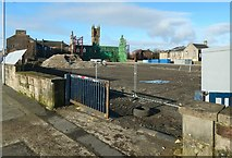 NS3975 : Former site of Dumbarton Burgh Hall by Lairich Rig