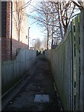 SE2434 : Footpath from Daisyfield Road to Lower Town Street by Stephen Craven