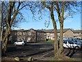 SE2434 : Rossefield Place car park by Stephen Craven