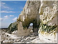 TV5397 : Natural arch on the Seven Sisters, East Sussex by Adrian Diack